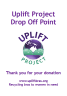 Thumbnail image of Uplift Project Drop Off Point sign